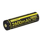 Аккумулятор Nitecore 18650R Li-ion PCB 2600 mAh USB
