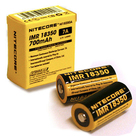 Аккумулятор Nitecore 18350 Li-ion IMR 700 mAh