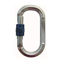 Карабин Vertikal овальный муфтовый Keylock, дюраль
