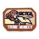 Патч ТВФ вышивка Trunk Monkey