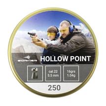 Пули свинцовые Borner Hollow Point 5.5 мм (250 шт)