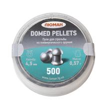 Пули Люман Domed Pellets 4,5 мм 0.57 г (500 шт)