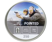 Пули Borner Pointed 5.5 мм 1.15 г (250 шт)