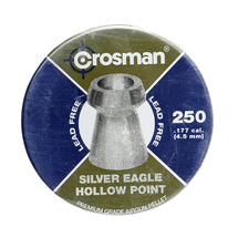 Пули Crosman Silver Eagle HP 4,5 мм 0.26 г (250 шт)