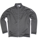 Толстовка мужская Salomon SALOMON FULL ZIP FLEECE, Black