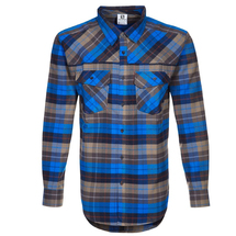 Рубашка мужская Salomon MOUNTAIN FLANNEL SHIRT M BL