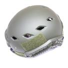 Шлем тактический JKN Fast Helmet с комплектом креплений, Green