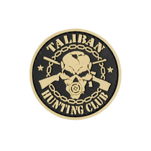 Патч PVCZ ПВХ Taliban, Tan