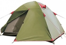 Палатка Tramp Tourist Lite 2-x местная, Green