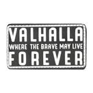 Патч SP печать Valhalla, Black