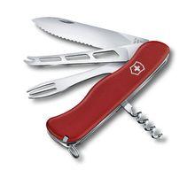 Нож складной Victorinox Cheese Master 111 мм, Red