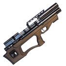 Винтовка пневматическая Krugergun PCP Снайпер буллпап прямоток, 300 мм, cal 5.5, передний вз, Wood