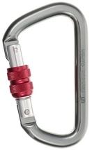 Карабин Vento Высота-523 D-образный муфтовый, дюраль, Gray/Red