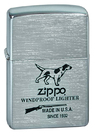 Зажигалка Zippo 200 Hunting Tools, Brushed Chrome