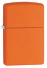 Зажигалка Zippo 231 Классическая, Orange Matte