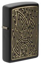 Зажигалка Zippo 49597 Maze Design, Black Matte